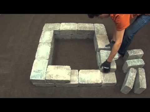 How to Install a Fresco™ Fire Pit Kit - Square - How To Install A Fresco™ Fire Pit Kit - Square - YouTube