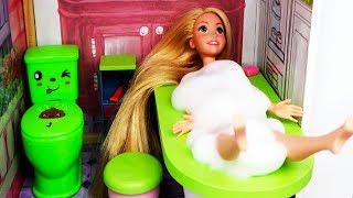 La Nueva Casa de Rapunzel - Historias con Muñecas de Princesas Disney