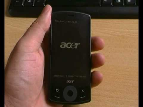 Acer be Touch E101_Включение системы.MP4