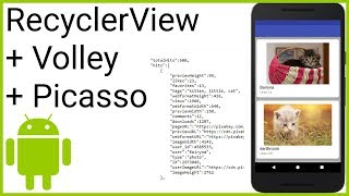 RecyclerView + JSON Parsing - Part 1 - CHOOSING AN API AND PREPARATIONS - Android Studio Tutorial