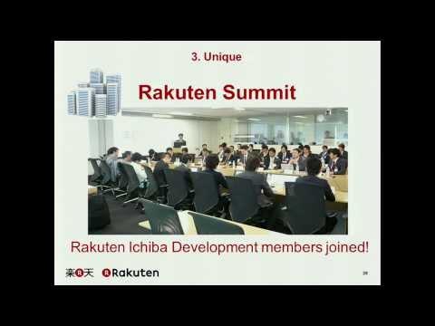 [RakutenTechConf2013][A-2] Japan Ichiba's Architecture