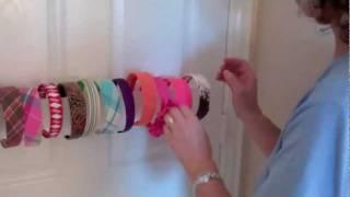 headband holder installation