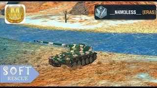 AMX 13 90 : 3400 Damage , 3 Frags - WOT BLITZ -