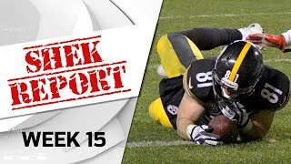 Top 3 Fails from Week 15 | Shek Report | NFL