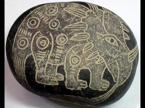 Очень странные артефакты нашли в Перу.Люди эпохи динозавров. - YouTube
