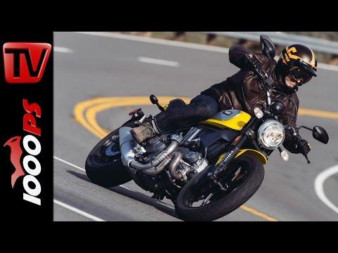 2015 Ducati Scrambler Test | Action, Offroad, Fazit