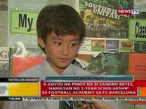 BT: 9-anyos na Pinoy, nabigyan ng 3-year scholarship sa football academy sa FC Barcelona