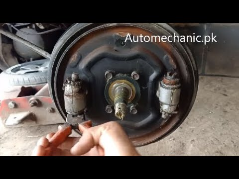 How To Fix Brake Piston Stuck Problems In Suzuki Bolan+Ravi | Urdu Hindi Tutorial