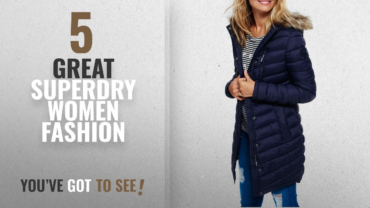 a348bc2e Superdry Women Fashion [2018 Best Sellers]: Superdry Womens Chevron ...