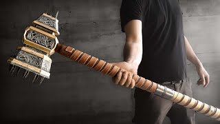 Making This War Hammer From Start To Finish