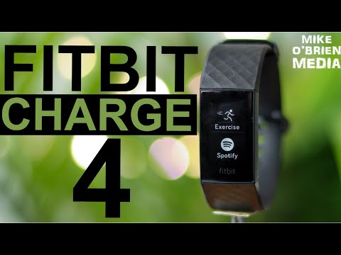 FITBIT CHARGE 4 [Best Fitness Tracker 2020?] Spotify, GPS, NFC Payments