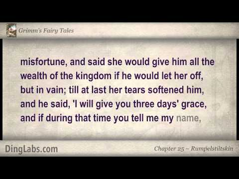 Rumpelstiltskin - Grimm's Fairy Tales by the Brothers Grimm - 25