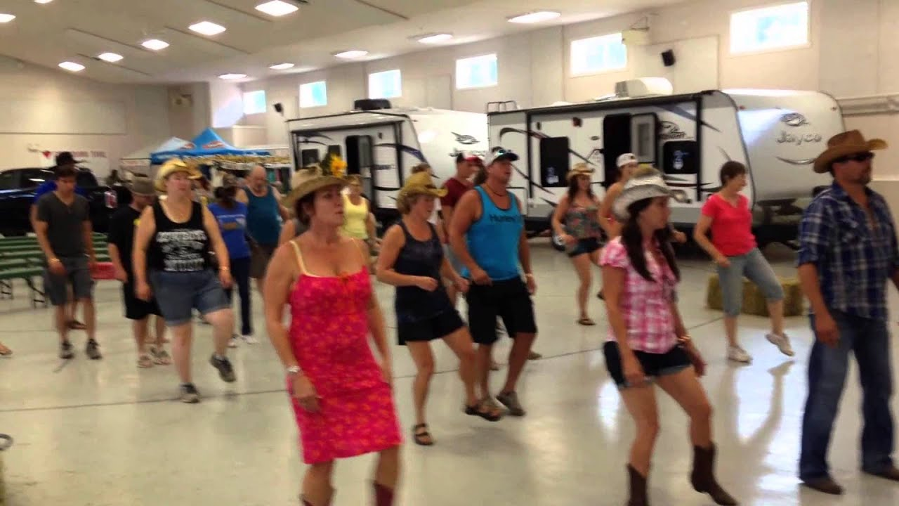 Bump It Line Dancing At Sunfest 2015 Youtube