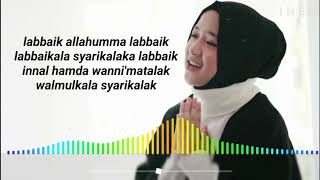 Download lagu Nissa sabyan Allahumma Labbaik Lirik MP3
