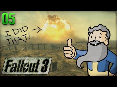 """Fallout 3 Gameplay Walkthrough Part 5 - """"BYE BYE MEGATON!!!"""" 1080p HD"""