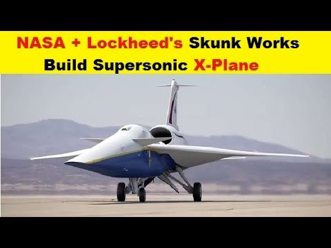 NASA and Lockheed's Skunk Works To Build Manned Supersonic X-Plane