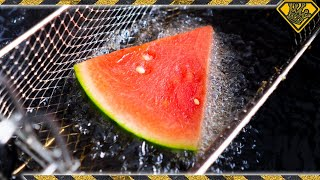 Download Is It a BAD IDEA to DEEP FRY Watermelon? Mp3 and Videos