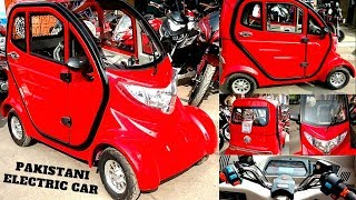 ELECTRIC CAR IN PAKISTAN FULL DRIVE TEST&REVIEW ON PK BIKES