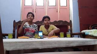 10 packs tadhe madhe with 4 glass dew eating competition [ challange the world food ]