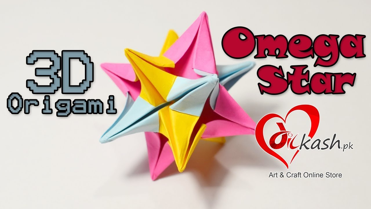 Craft Online Store Origami Omega Star Dilkash Pk Art And Craft Online Store