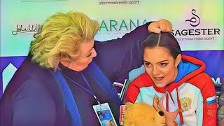Татьяна Тарасова при деле С удовольствием занимается с Медведевой Фигурное катание новости