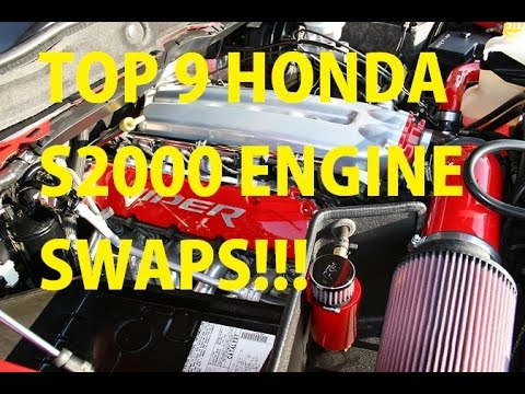 Top 9 S2000 Engine Swaps for you, MAYBE?