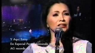 Repeat youtube video Ana Gabriel Y Aqui Estoy
