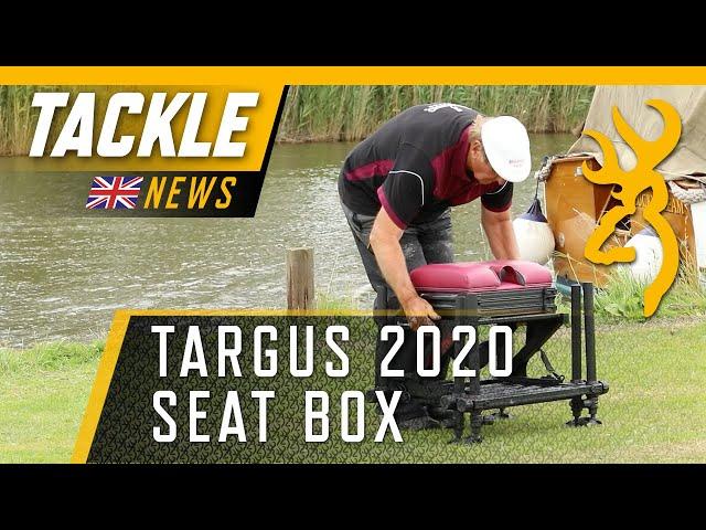The TARGUS 2020 Seat Box - Bob Nudd's new second home!