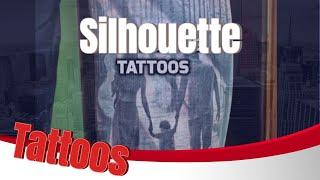 Silhouette Tattoos HD - Amazing Tattoos