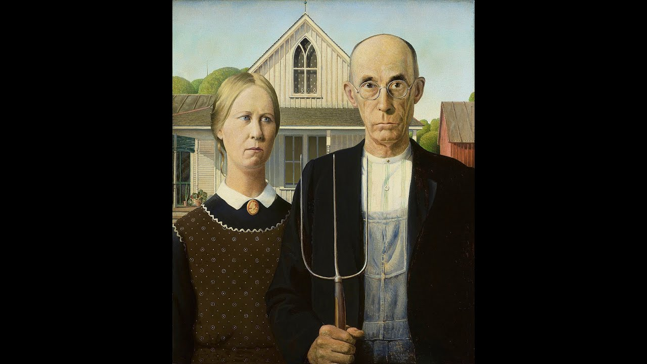 Living In The American Gothic House
