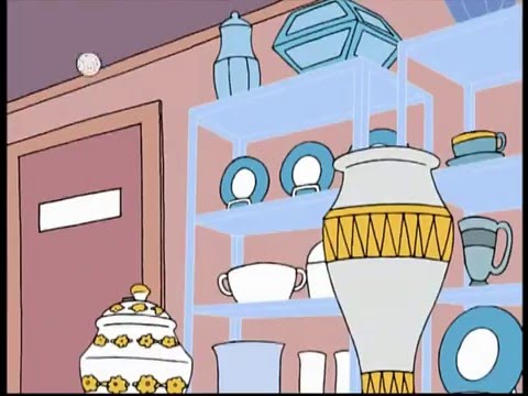 bull in a china shop family guy clip