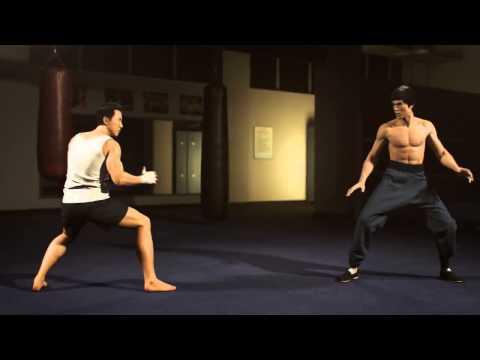 Bruce Lee Vs Donnie Yen - Luta Sensacional!!! 3D Realista