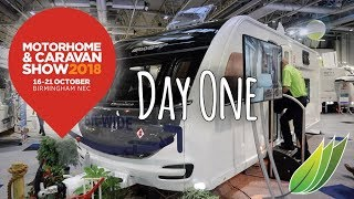 Motorhome and Caravan show 2018 Day 1