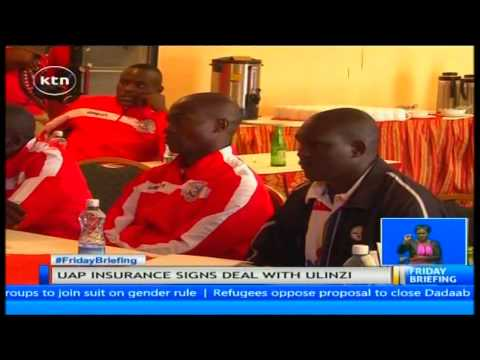 Ulinzi stars signs a co-sponsorship agreement with UAP Insurance