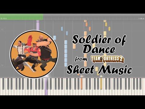 [SHEET MUSIC] Team Fortress 2 - Soldier of Dance / Kazotsky Kick