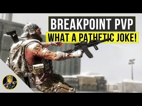 Ghost Recon: Breakpoint PVP - What a Pathetic Joke...