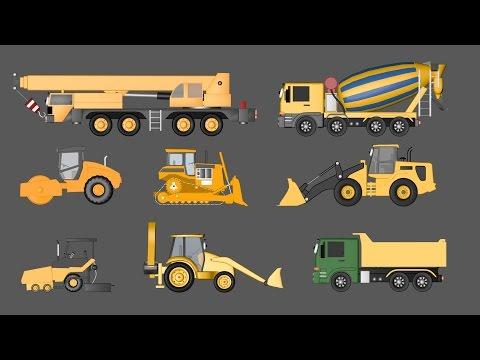 Veicoli da costruzione - AlexKidsTV
