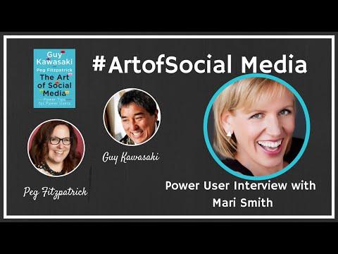 The Art of Social Media Power Users featuring Mari Smith, Guy Kawasaki, and Peg Fitzpatrick