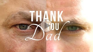 Thank you Dad! Father's Day Message
