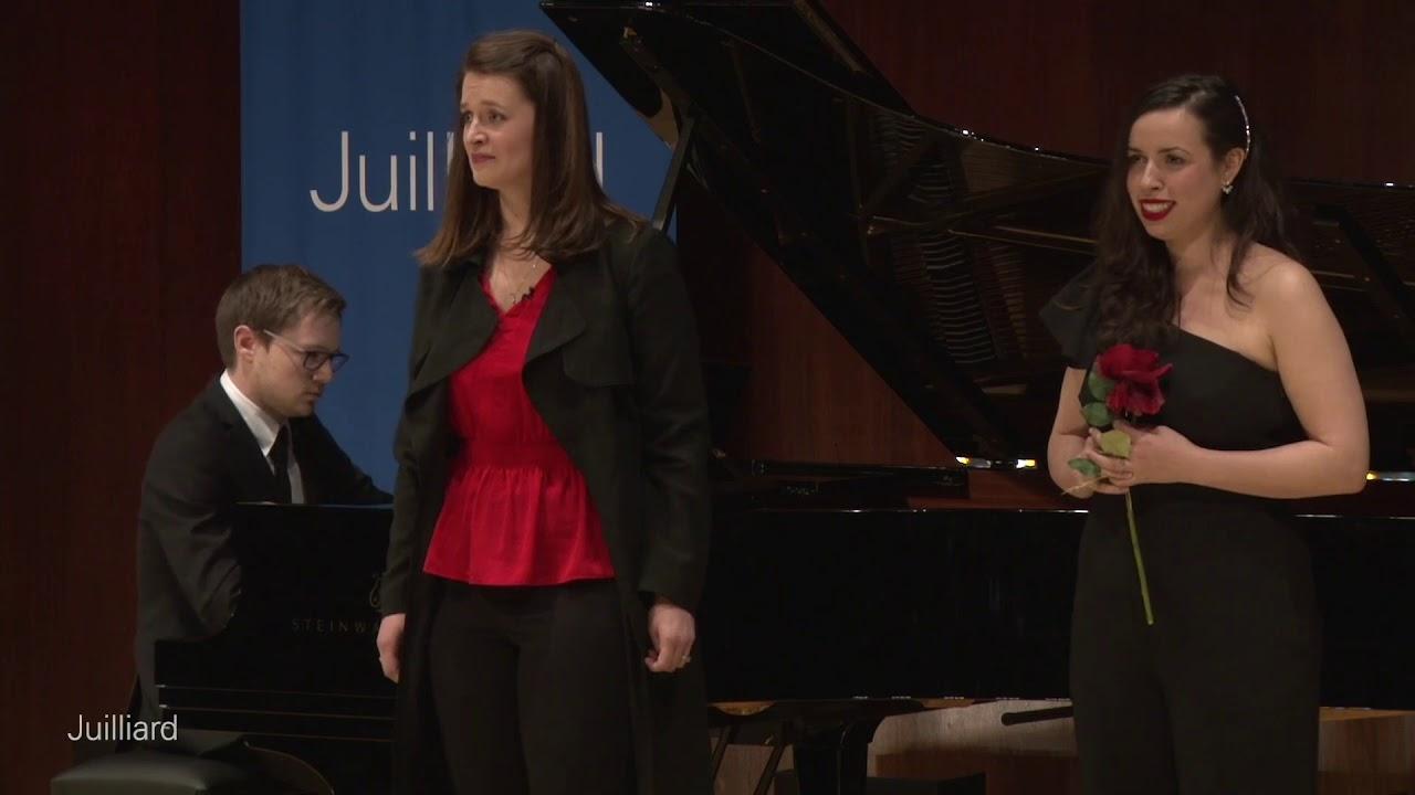 Juilliard - Master Class with Renée Fleming - Dufy, Moore, Barfoed