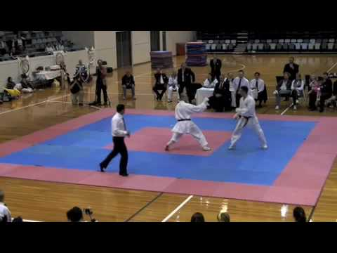 GKR World Cup '09 MALE OPEN KUMITE SEMI'S