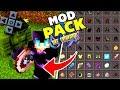 MODPACK CRAZYCRAFT IGUAL DE PC PARA SÉRIE NO MINECRAFT PE ! - COM 15 MODS (Minecraft Pocket Edition)