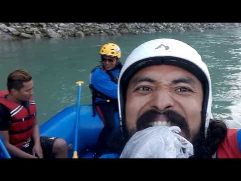 Rafting Adventure in Marshyangdi River Side, Nepal