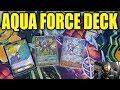 Premium AQUA FORCE Deck (Alexandros.Deck)