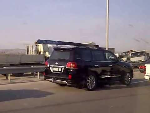 Baku Car Crash