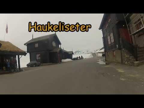 MC tur i Telemark og Hordaland - Haukeli - Bergen