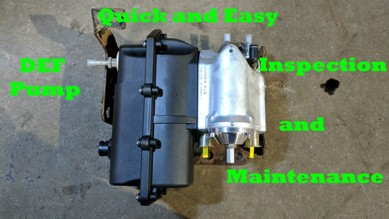 detroit diesel def pump inspection maintenance