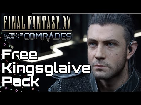 COMRADES New Kingsglaive Pack! Nyx & Button Up Jacket! Final Fantasy 15