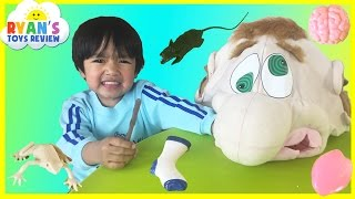 what s in ned s head family fun game for kids egg surprise toys ryan toysreview