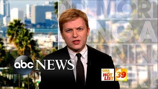'GMA' Hot List: Ronan Farrow discusses his reporting on 2nd Kavanaugh accuser